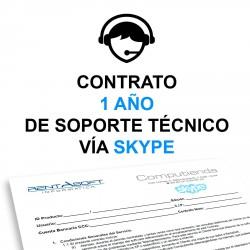 Contrato Anual de Soporte Técnico Computienda Vía Skype