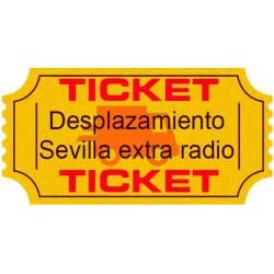 Ticket desplazamiento extra radio (hasta 25 Km)