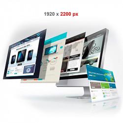 Pagina Adicional de 1920 X 2.200 px para Sitio Web