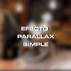 Efecto parallax simple para sitio web