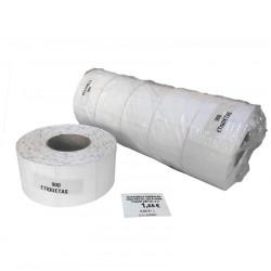 5 Rollos de 900 Etiquetas cada uno de 5x3.5 cm de Precio Exposición para impresora Ribbon
