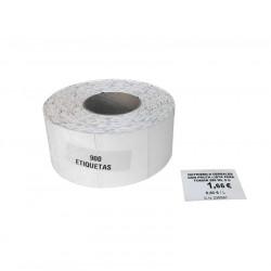 Rollo de 900 Etiquetas de 5x3.5 cm de Precio Exposición para impresora Ribbon