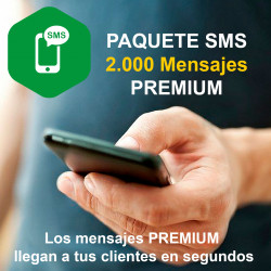 2000 Mesajes SMS Premium para Compufarma