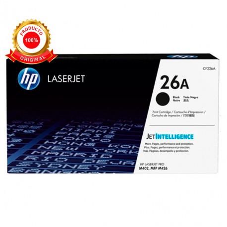 Toner negro original HP Laser Jet Pro 3.100 páginas CF226A