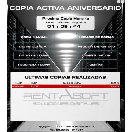 Copia Activa Aniversario actualización desde Copia Activa Plus