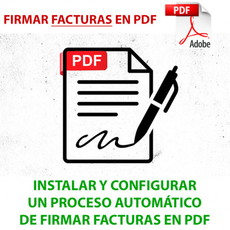 Instalar y Configurar Firma Electrónica de PDF
